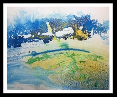 """""""landscape    original abstract acrylic canvas painting"""