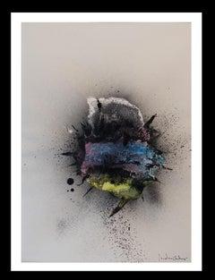 Naturaleza. original abstract acrylic painting
