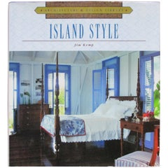 Island Style Hardcover Decorative Book
