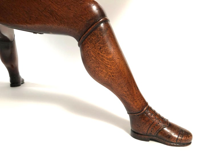 Late 19th Century Isle of Man Mahogany Dining Table with Brogue Shoe Feet, circa 1880 For Sale