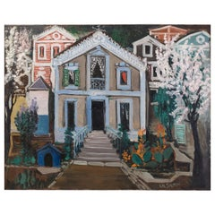 Ismael de la Serna ''Villa'' Signed and Dated 1952
