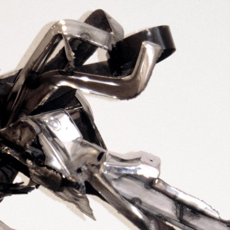 Dancer II Large Abstract Metal Sculpture 3