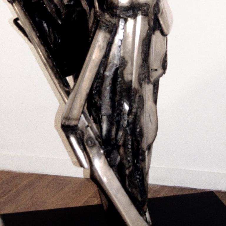 Dancer II Large Abstract Metal Sculpture 4