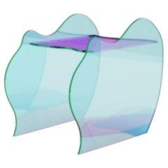 Isola Glass Bench by Brajak Vitberg