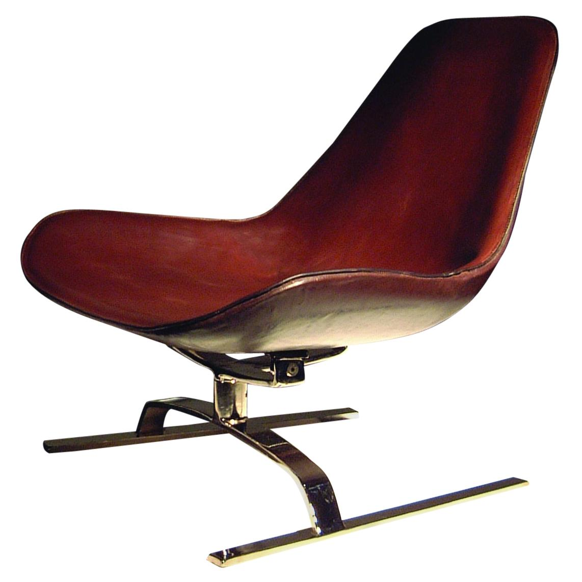Isola Koi Leather Lounge Chair