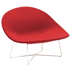 Isola Red Accent Chair by Claesson Koivisto Rune