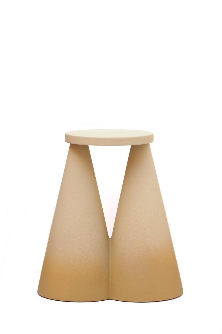 Modern Isola Side Table by Cara Davide For Sale