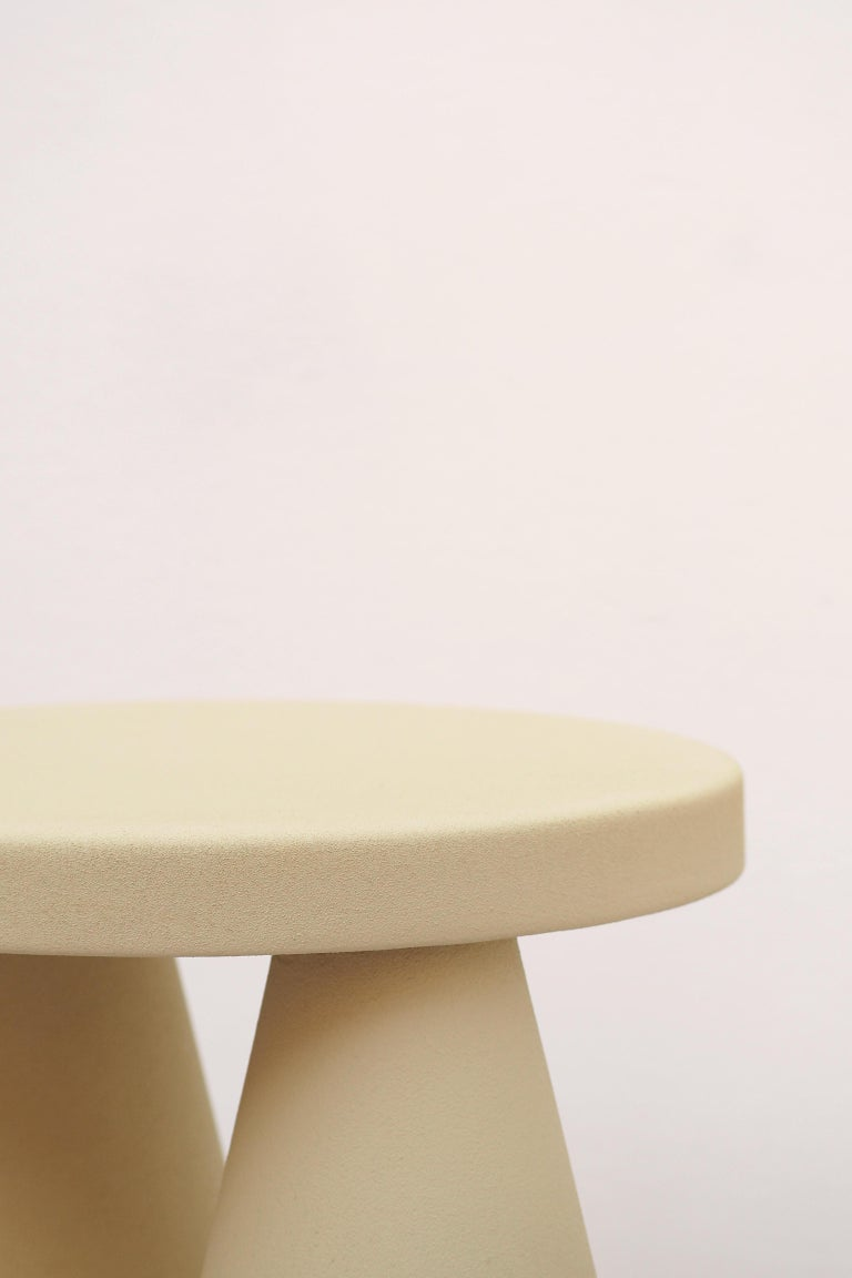 Italian Isola Side Table by Cara Davide For Sale