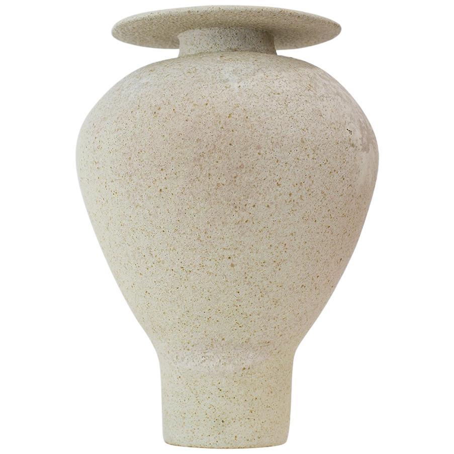 """Isolated"" Glaze Stoneware Vase, Raquel Vidal and Pedro Paz"