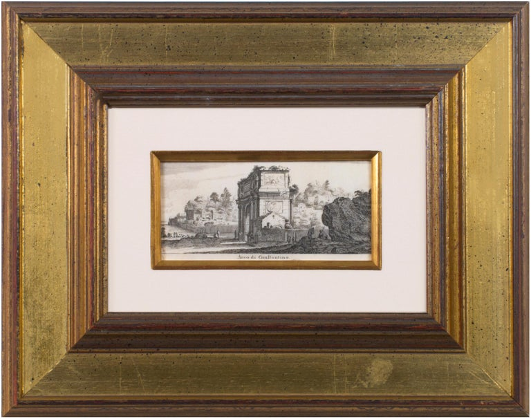 In the mid-seventeenth century, views of historic landscapes and classical structures were increasingly popular among print collectors, and artists like the Frenchman Israel Sylvestre were eager to fill that demand. In this example, Sylvestre