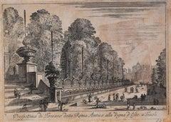 Prospettiva di Fontane detta Roma Antica alla Vigna d'Este a Tivoli - 1646