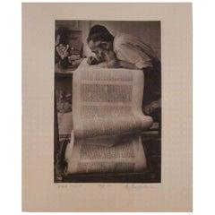 Israeli Scribe Photograph by Archie Lieberman