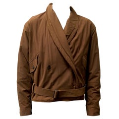Issey Miyake 80s belted jacket