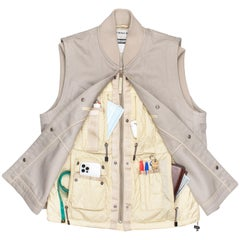 Issey Miyake AW2000 X-Ray Cargo Vest
