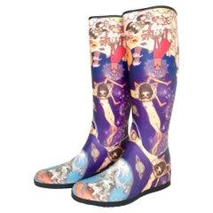 Issey Miyake Aya Takano Limited Edition 2004 'Night' Fantasy Boots