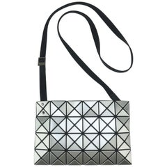 Issey Miyake Bao Bao Silver Triangle Handbag