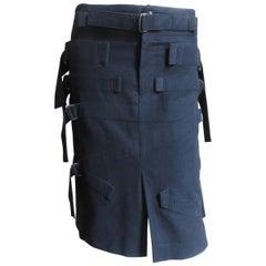 Issey Miyake Bondage Skirt with Straps