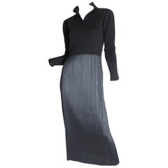 Issey Miyake Dress with Pleating, 1990s
