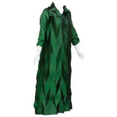 Issey Miyake Emerald Green Runway Dress Spring 2008