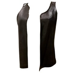 Issey Miyake Leather Waistcoat