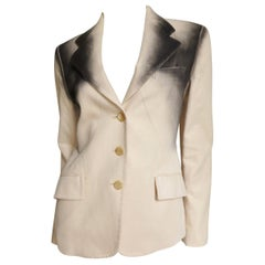 Issey Miyake Ombre Spray Paint Jacket