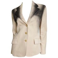Issey Miyake Ombre Trim Jacket