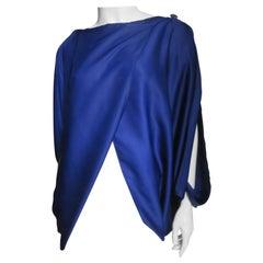 Issey Miyake Open Sleeve Drape Top