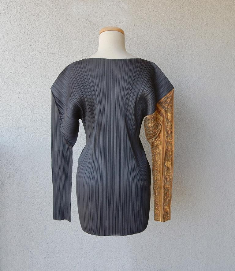 Women's Issey Miyake Pleats Please Artists Series No. 1 Yasumasa Morimura Tunic For Sale