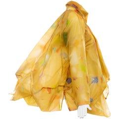 "Issey Miyake Runway Nylon Print Jacket ""The Wind Collection"", Spring 2008"