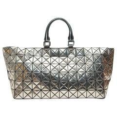 Issey Miyake Silver Bao Bao Bag