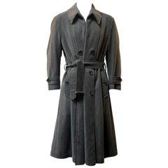 Issey Miyake Wool Trench Coat