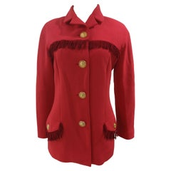 Istanti by Versace Aries red jacket