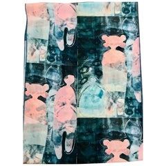 It Snowed When They Came scarf design by Melanie Yazzie chiffon contemporary