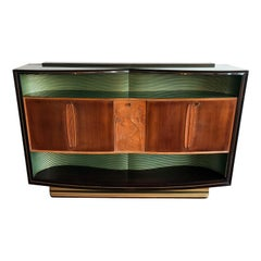 Italian Mid-Century Sideboard Art Déco style by Vittorio Dassi, 1950s