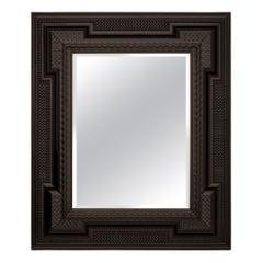 Italian 17th Century Ebony Florentine Mirror