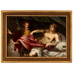 Italian 17th Century Venetian Old Master Oil on Canvas