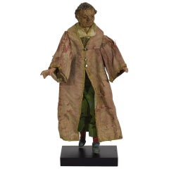 Italian 18th-19th Century Terracotta Saint Figure