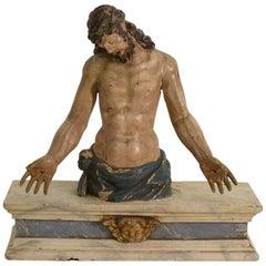 Italian 18th Century Baroque Christ Figure