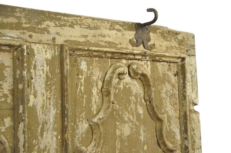 Painted Italian 18th Century Door For Sale