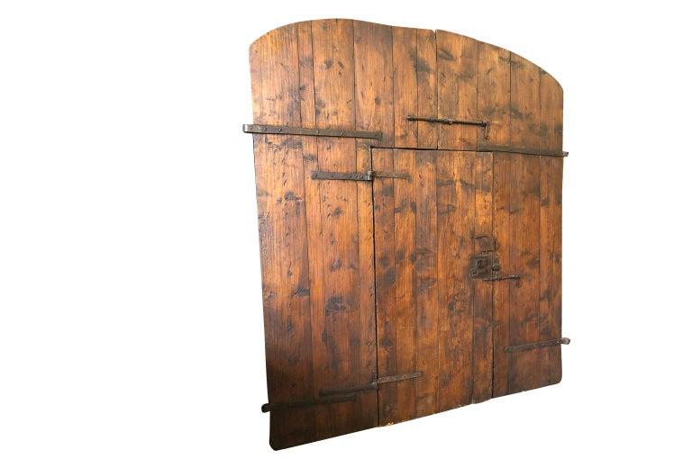 Italian 18th Century Entry Doors In Good Condition For Sale In Atlanta, GA