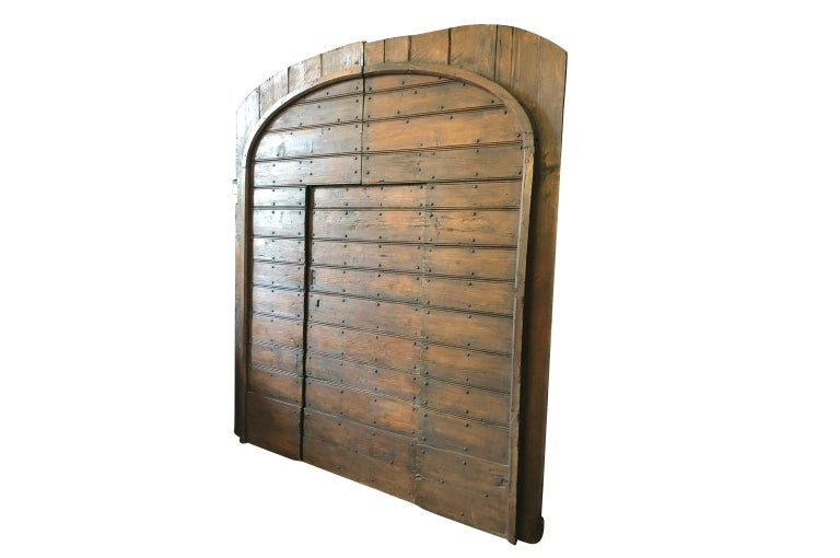18th Century and Earlier Italian 18th Century Entry Doors For Sale