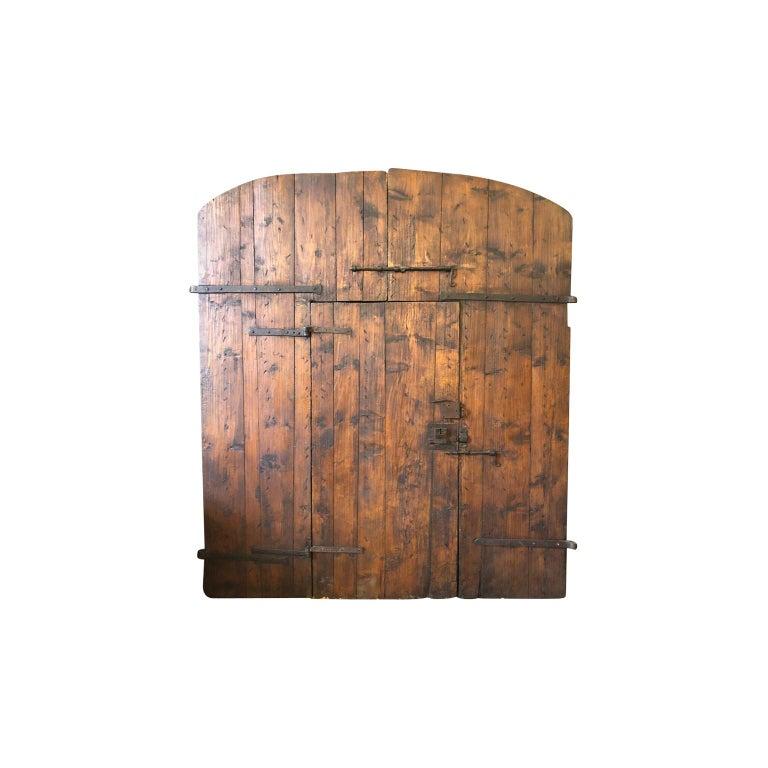 Italian 18th Century Entry Doors For Sale