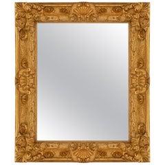 Italian 18th Century Florentine Giltwood Mirror