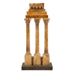 Italian 18th Century Grand Tour Period Alabaster Architectural Element