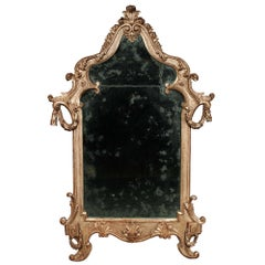 Italian 18th Century Louis XV Period Carved Mecca Mirror