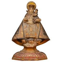 Italian 18th Century Madonna and Child
