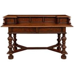 Italian 18th Century Northern Italian Walnut Desk