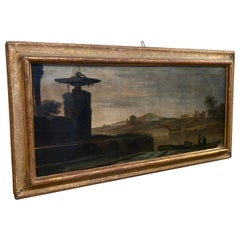 Italian 18th Century Oil On Canvas