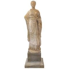 Italian 18th Century Terra Cotta Statue