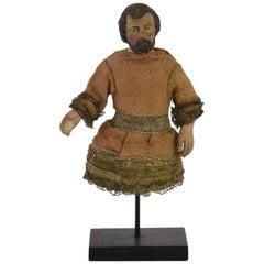 Italian 18th Century Terracotta Saint Figure